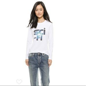 Marc by Marc Jacobs Sci Fi Graphic Long Sleeve Tee